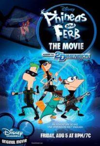 Phineas and Ferb the Movie: Across the 2nd Dimension (2011) ฟีเนียสกับเฟิร์บ คู่หูจอมป่วนกวนข้ามมิติ